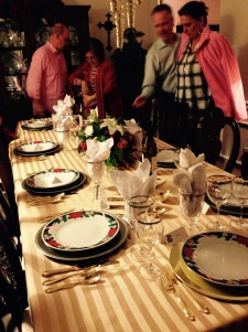 Linda's lovely table-scape