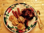 Linda and Gwen's Crown roast with Duchesse potatoes by Per