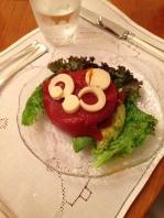 Yummy tomato aspic
